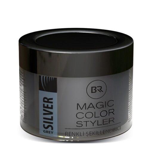 Black & Red – Color Wax Silver Grey