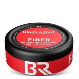 Fiber Haarwax Black & Red