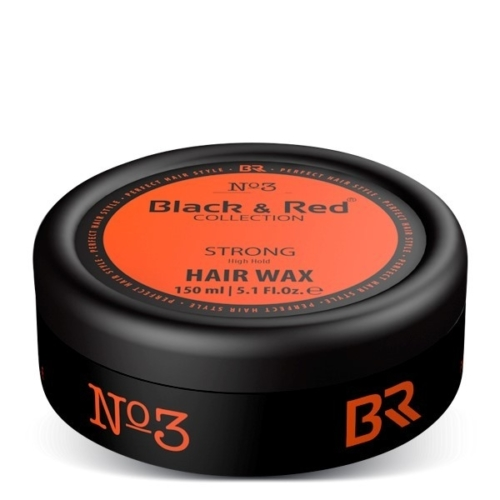 Haarwax Strong – Black & Red